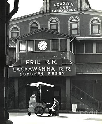 Photograph - Hoboken Ferry C1966 by Erik Falkensteen