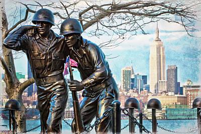 Hoboken War Memorial Art Print