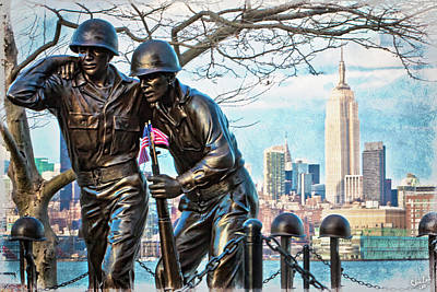 Keith Richards - Hoboken War Memorial by Chris Lord