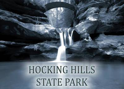 Photograph - Hocking Hills State Park Poster by Dan Sproul