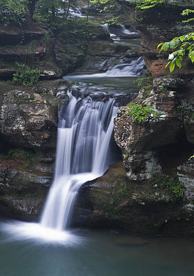 Photograph - Hocking Hills Waterfall by Rick Hartigan