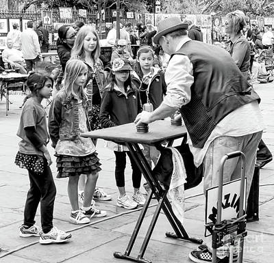 Photograph - Hocus Pocus In Jackson Square 2 Nola by Kathleen K Parker