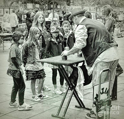 Photograph - Hocus Pocus In Jackson Square Nola by Kathleen K Parker