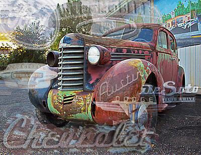 Austin Artist Digital Art - Hodge Podge by David Kehrli