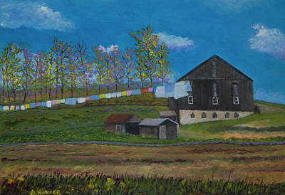 Painting - Hodge's Farm by Denise Wagner
