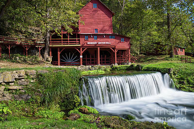 Photograph - Hodgson Mill Landscape by Jennifer White