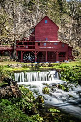 Old Mills Photograph - Hodgson Mill by Paul Freidlund