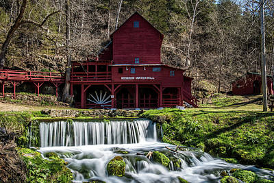Photograph - Hodgson Water Mill by Paul Freidlund