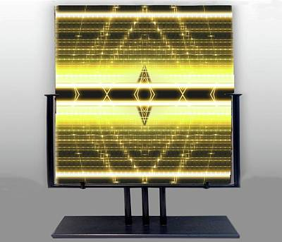 Digital Art - Hoeizontal Visions by Mario Carini