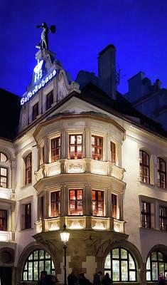 Photograph - Hofbrauhaus Munich by Shirley Mitchell