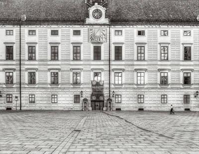 Photograph - Hofburg Palace by Roberto Pagani