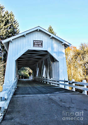 Photograph - Hoffman Covered Bridge by Erica Hanel