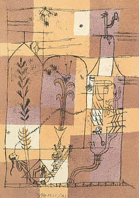 Relief - Hoffmannesque Scene by Paul Klee
