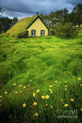 Photograph - Hofskirkja Church by Inge Johnsson