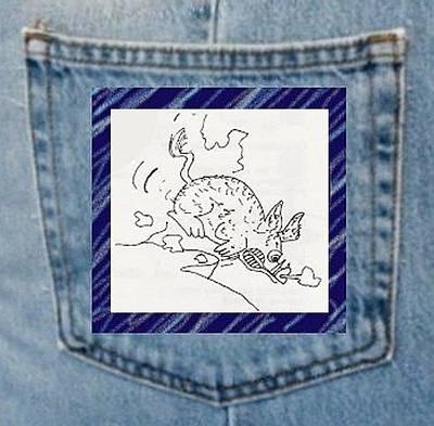 Digital Art - Hog Fury Pocket Art by Julia Woodman