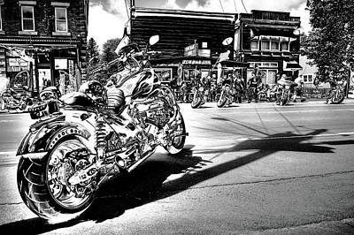Harley Davidson Photograph - Hog Heaven  by David Patterson
