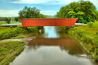 Photograph - Hogback Bridge Landscape by Adam Jewell