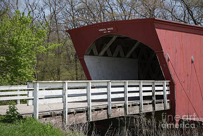 Photograph - Hogback Covered Bridge 2 by Teresa Wilson