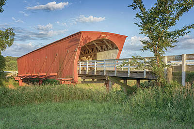Photograph - Hogback Covered Bridge 4 by Susan Rissi Tregoning