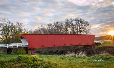 Hogback Photograph - Hogback Covered Bridge by Jeffrey Henry
