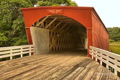Photograph - Hogback Covered Bridge by Adam Jewell