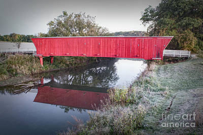 Photograph - Hogback Covered Bridge by Lynn Sprowl