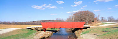 Hogback Covered Bridge, Madison County Print by Panoramic Images