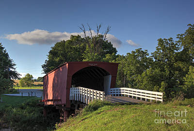 Photograph - Roseman Covered Bridge by Thomas Danilovich