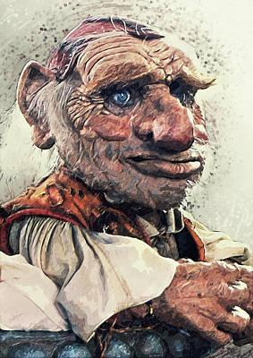 Goblin Digital Art - Hoggle - Labyrinth by Taylan Apukovska