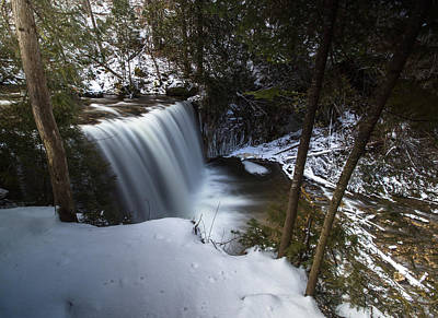 Sigma Photograph - Hoggs Falls by Cale Best