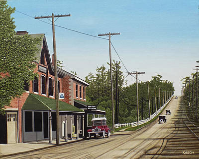 Painting - Hoggs Hollow Toronto 1920 by Kenneth M  Kirsch
