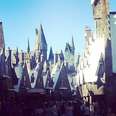 Wizard Photograph - #hogsmeade #hogwarts #hp #harry #potter by Saskia Joens