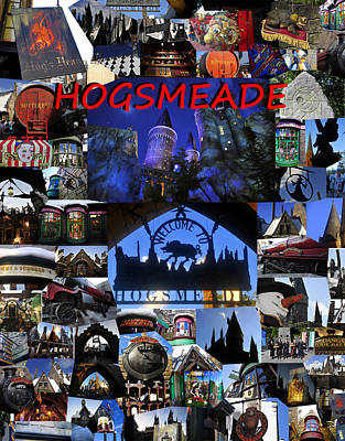 Photograph - Hogsmeade Town by David Lee Thompson