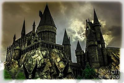 Hogswarts Castle Art Print