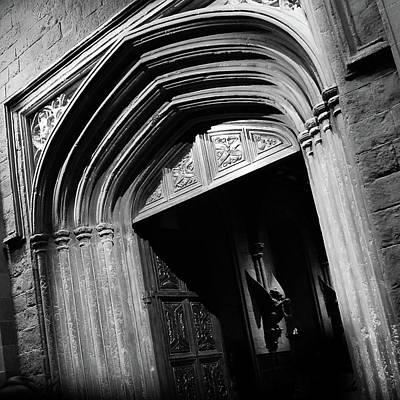 Entrance Door Mixed Media - Hogwards Door  by Gina Dsgn
