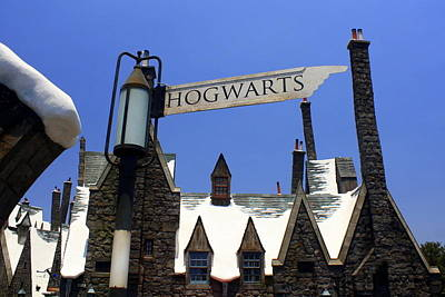 Photograph - Hogwart's Arrives In Hollywood by David Nicholls