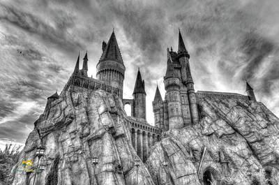 Hogwarts Castle 1 Art Print