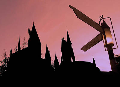 Print featuring the photograph Hogwarts Castle by Juergen Weiss