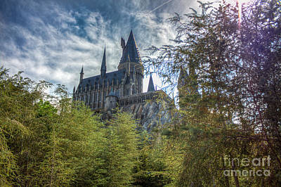 Photograph - Hogwarts Castle by Luis Garcia