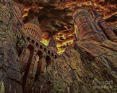 Potter School Photograph - Hogwarts Castle by Olga Hamilton