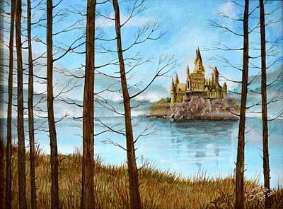 Hogwarts Castle Original by Suranga Basnagala