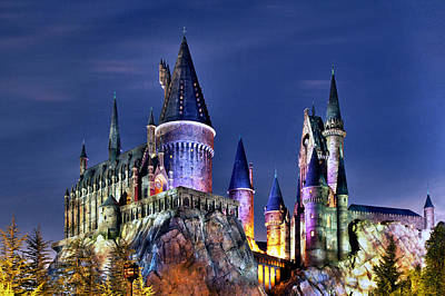 Potter School Photograph - Hogwarts by Danny Price
