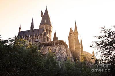 Photograph - Hogwarts Dusk by Rebecca Parker