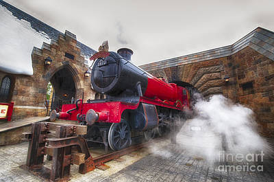 Wizard Photograph - Hogwarts Express by Darcy Michaelchuk