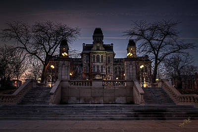 Spooky Photograph - Hogwarts - Hall Of Languages by Everet Regal