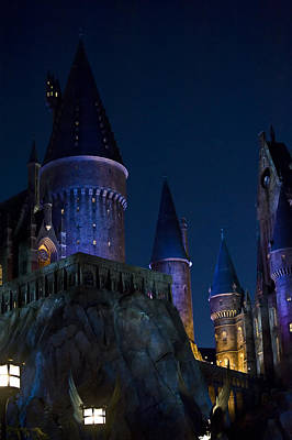 Disney Photograph - Hogwarts by Sarita Rampersad