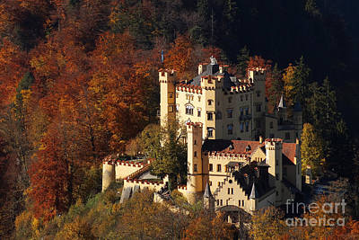 Photograph - Hohenschwangau Castle 5 by Rudi Prott