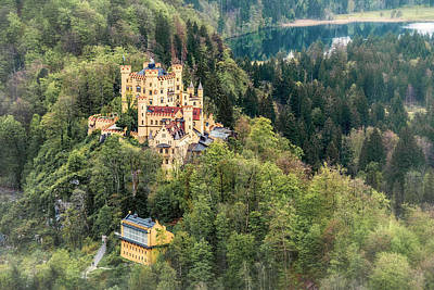 Photograph - Hohenschwangau Castle Germany 7r2_dsc8489_05122017 by Greg Kluempers