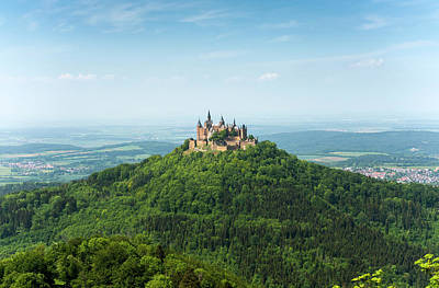 Photograph - Hohenzollern Castle From A Distance by Dennis Ludlow