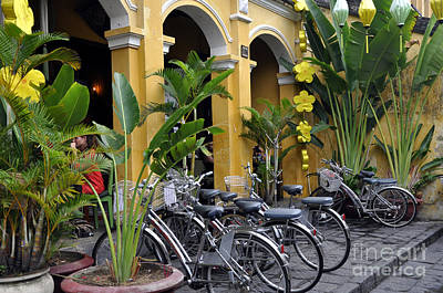 Photograph - Hoi An Bicycles by Andrew Dinh